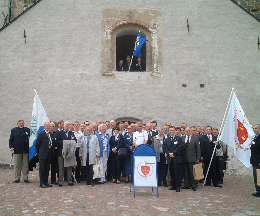 Heraldiskt möte i Åbo 2003.