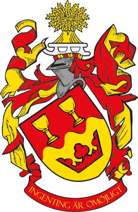 Vapen Bragesjö, ritat av Thomas Falk.