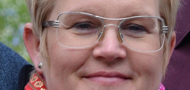 Karin Åström, ordförande i Heraldiska nämnden.